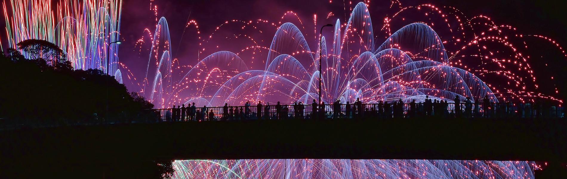 前夜祭 海上花火大会 中止のお知らせ